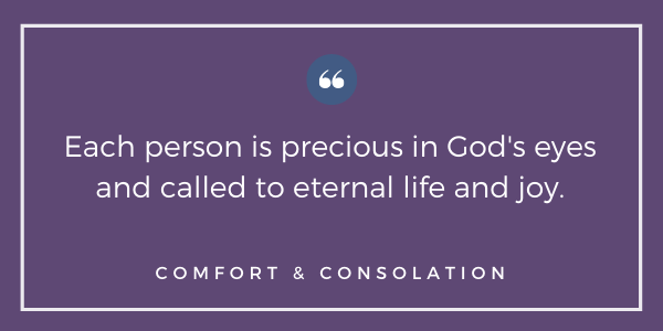 Quote on end of life from Maryland bishops