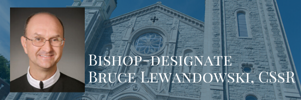Bishop-designate Lewandowski