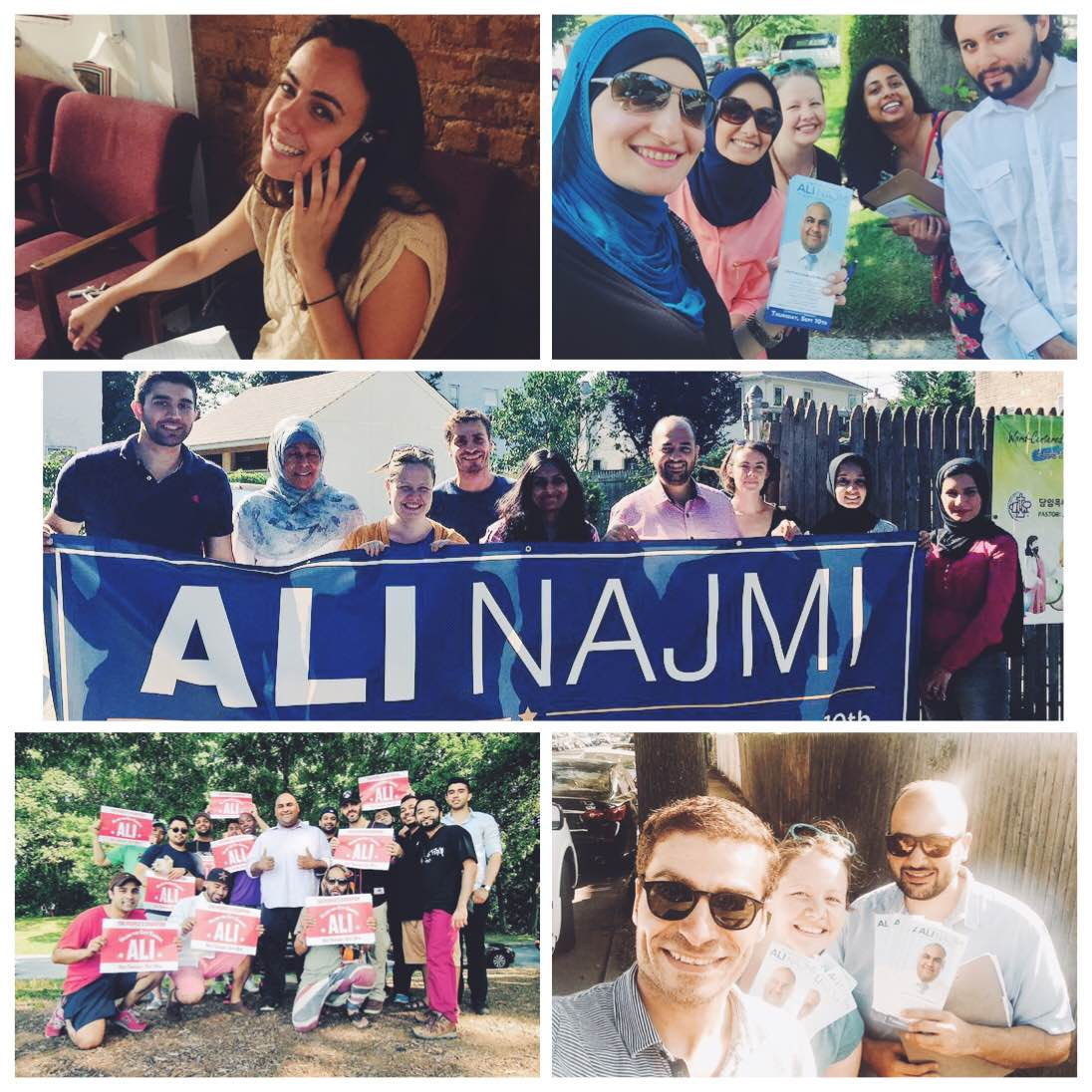 Ali Najmi Voter Contact