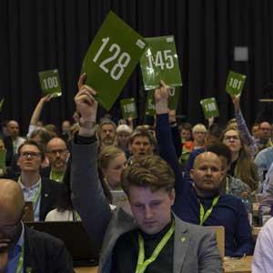 Høydepunkter fra landsmøtet: Lørdag