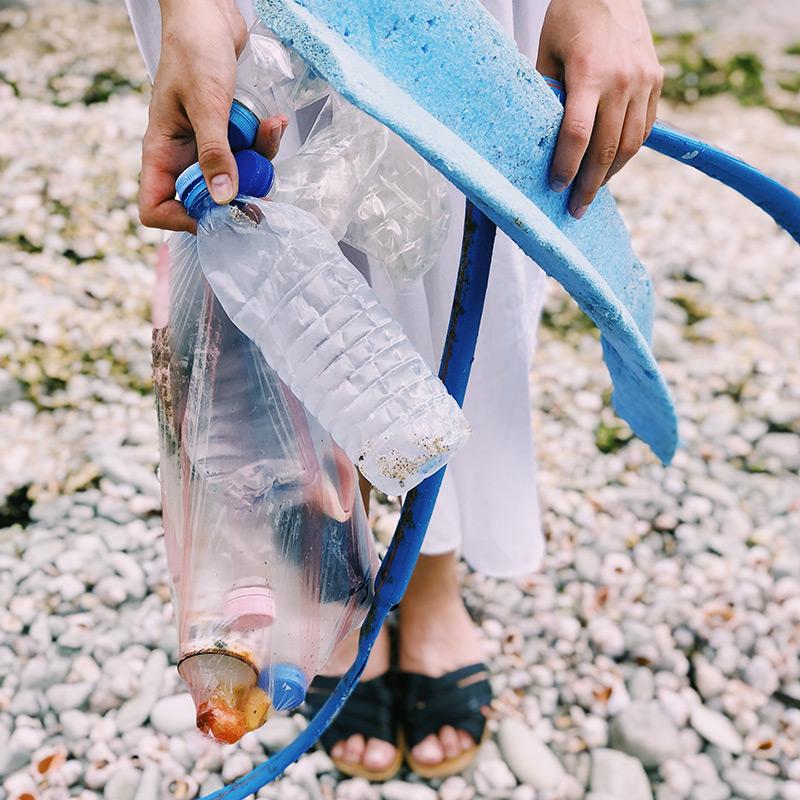 Plast funnet i havet