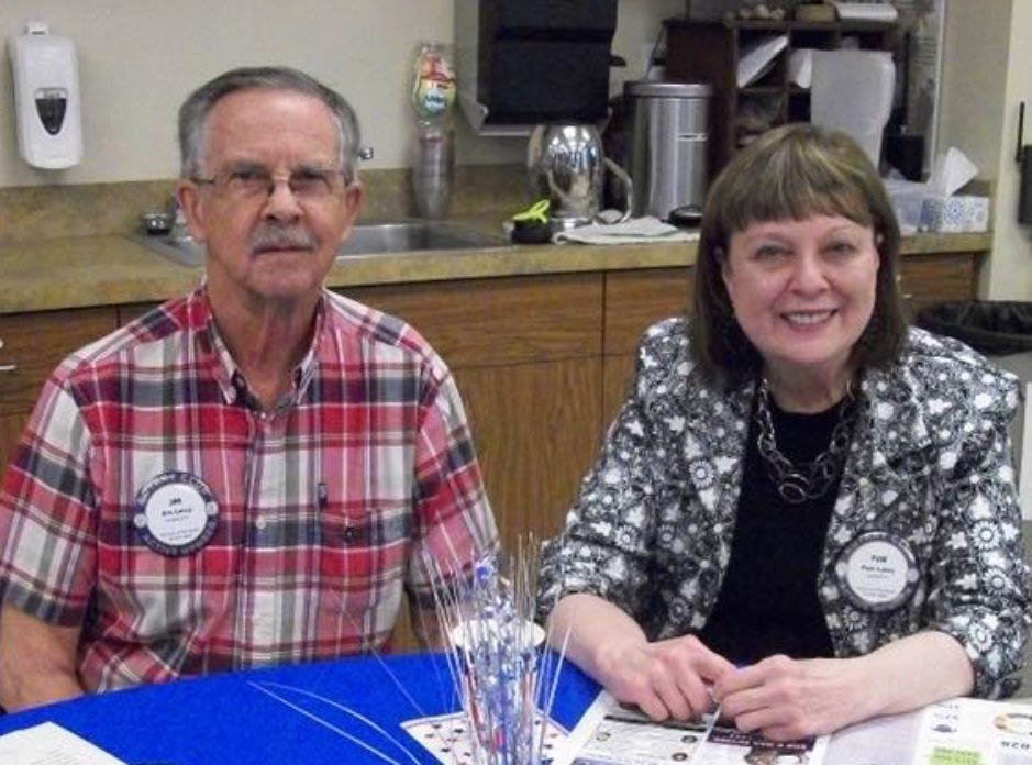 Jim & Pam Lutey at a Rotary function