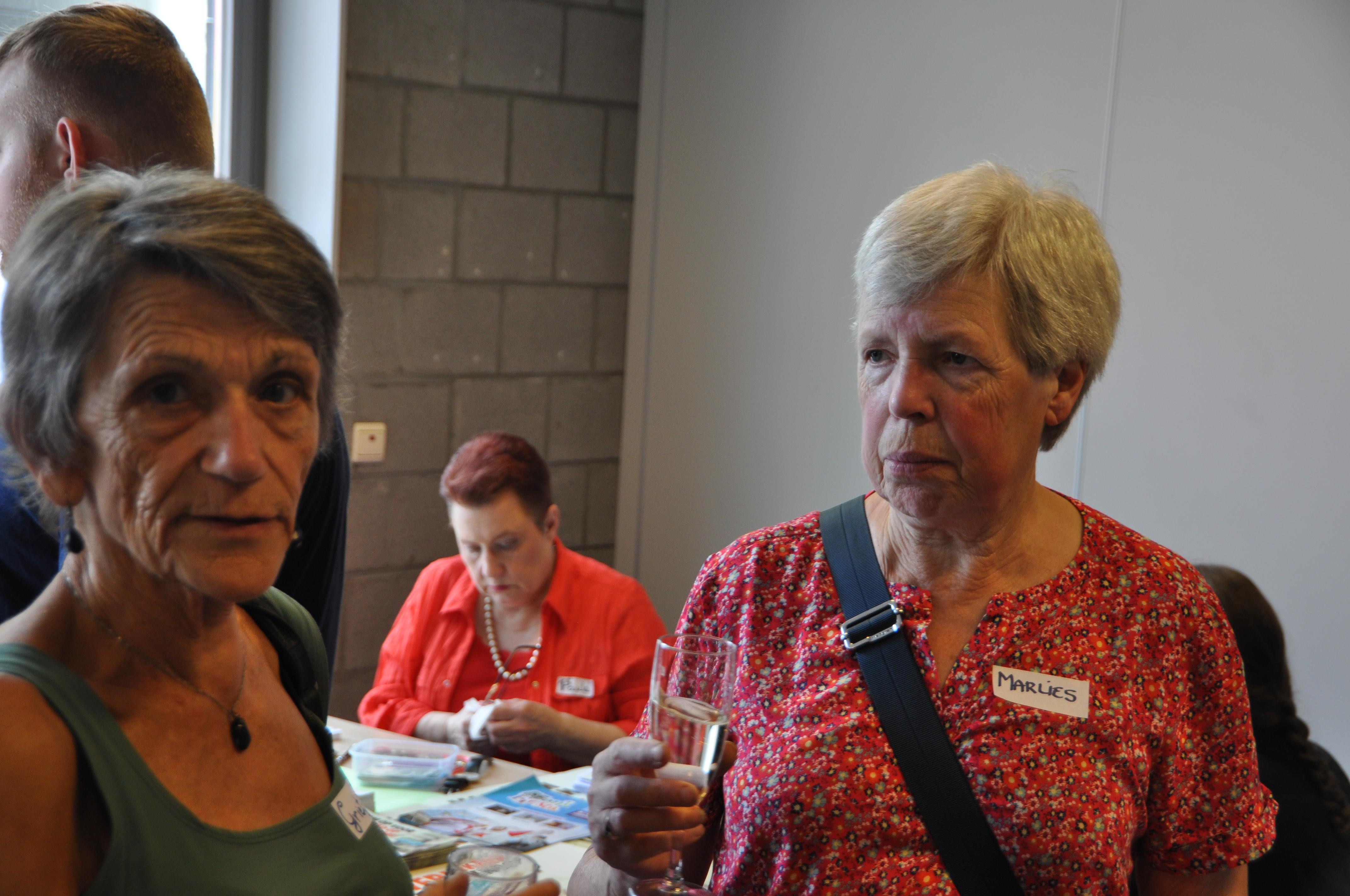 Grietje Huysmans en Marlies Slachmuylders
