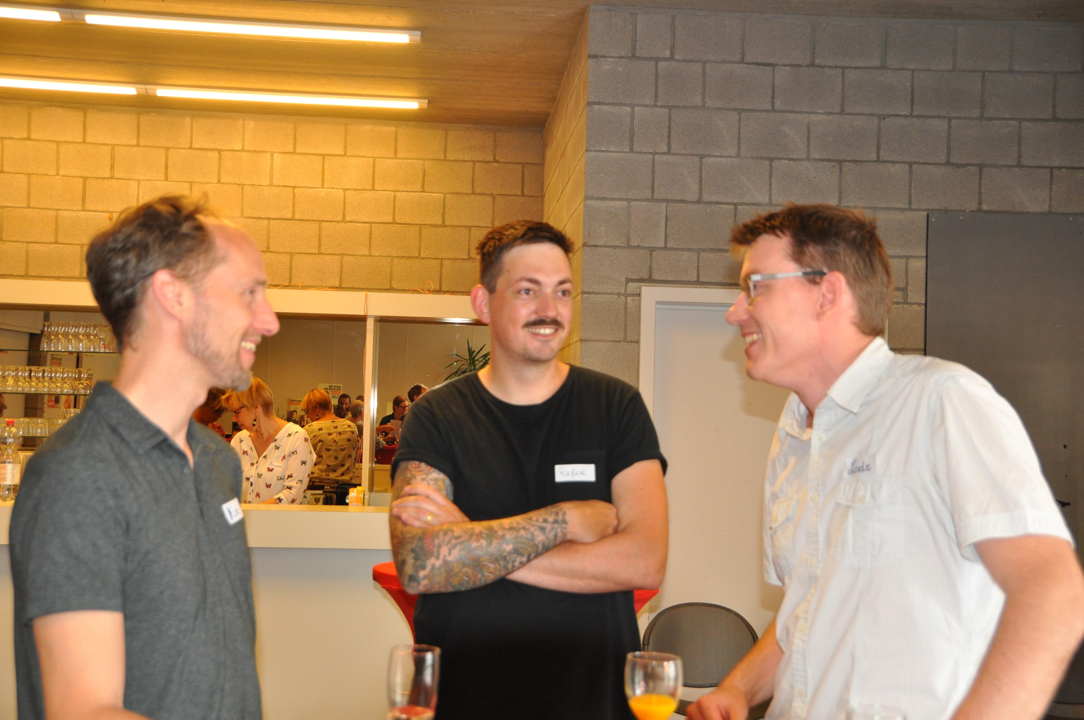 Koen Meynendonckx (links) en Lode Roggen (rechts)