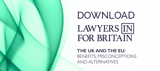 Lawyers In For Britain Report