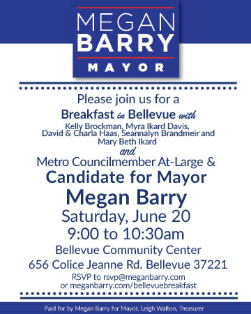 Breakfast in Bellevue with Megan Barry