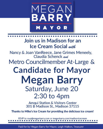 Madison Ice Cream Social with Megan Barry