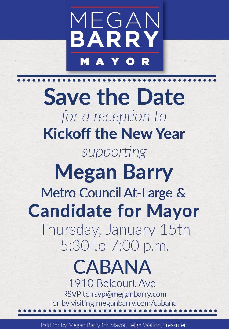 New Years Kickoff at Cabana
