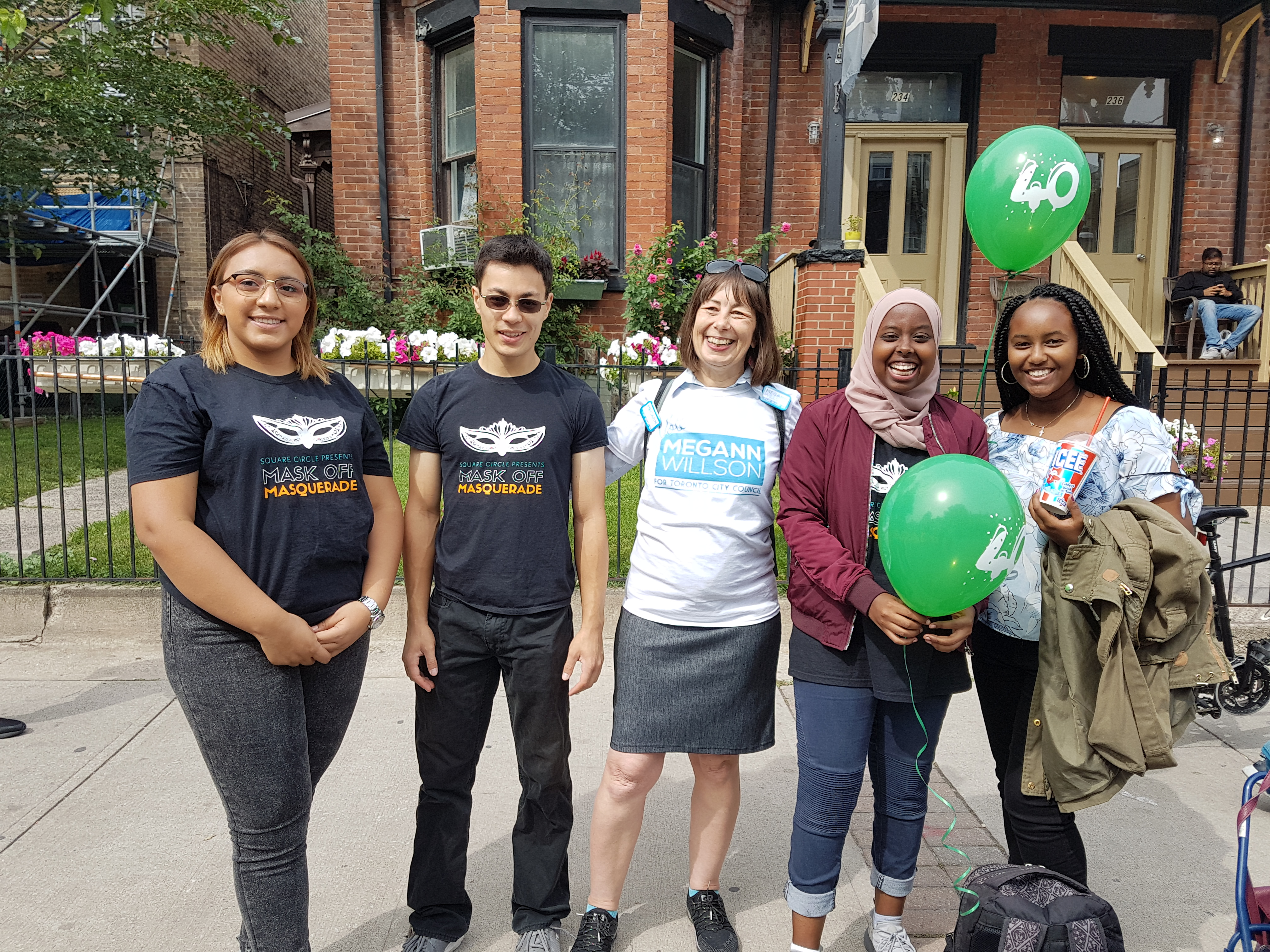 Youth Group Square Circle at Cabbagetown Festival