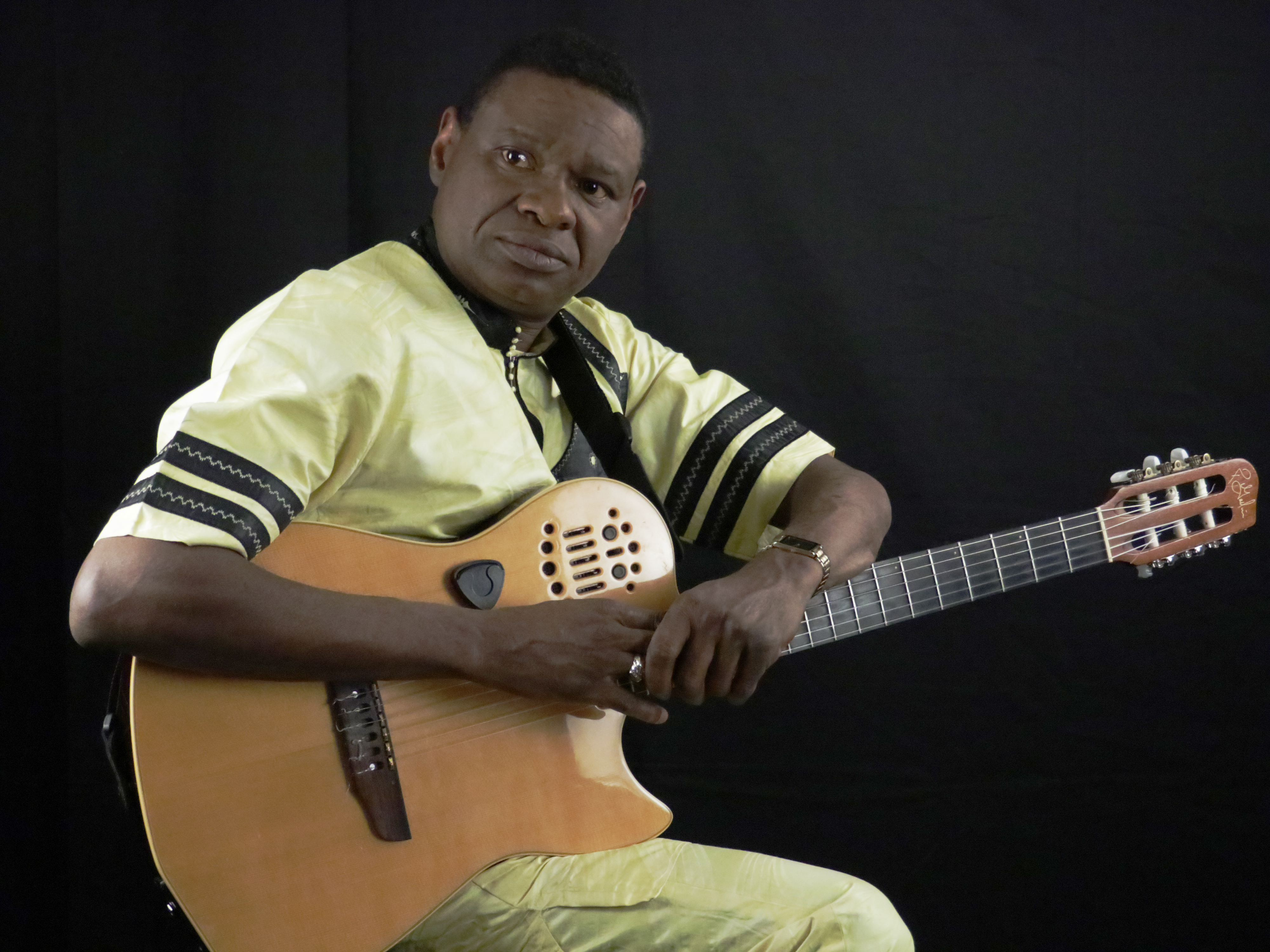 Alpha Ya Ya Diallo returns to the folk festival stage this year.