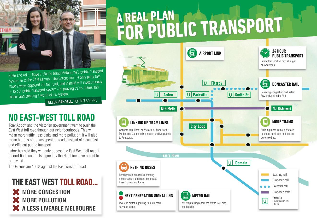 Screenshot - public transport policy