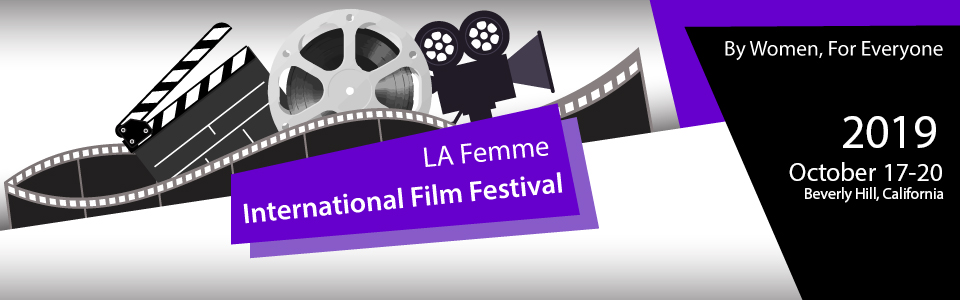 LA Femme International Film Festival banner logo