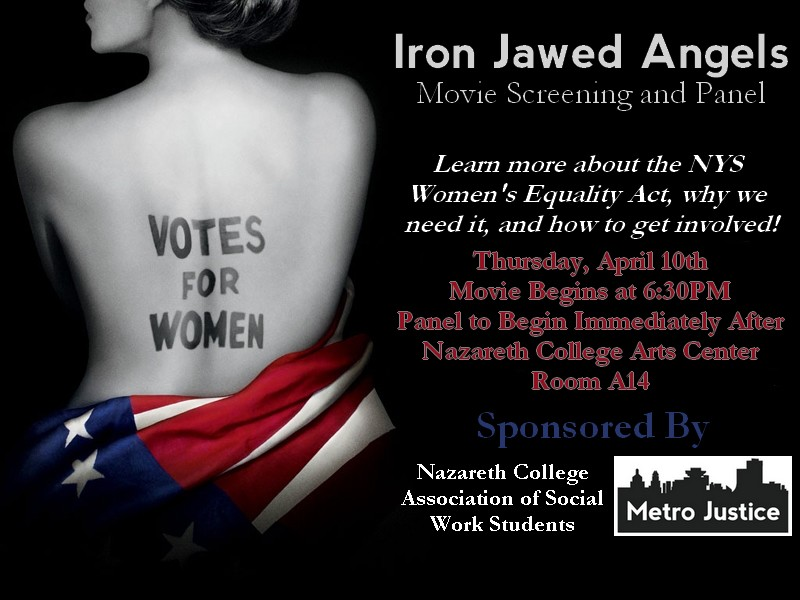 Iron Jawed Angels!