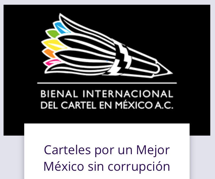 Anuncio de la categoría Por un Mejor México sin corrupción para la Bienal Internacional del