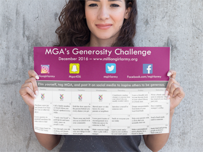 Generosity Calendar