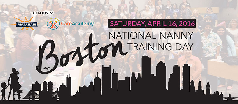 National Nanny Training Day Greater Boston Banner