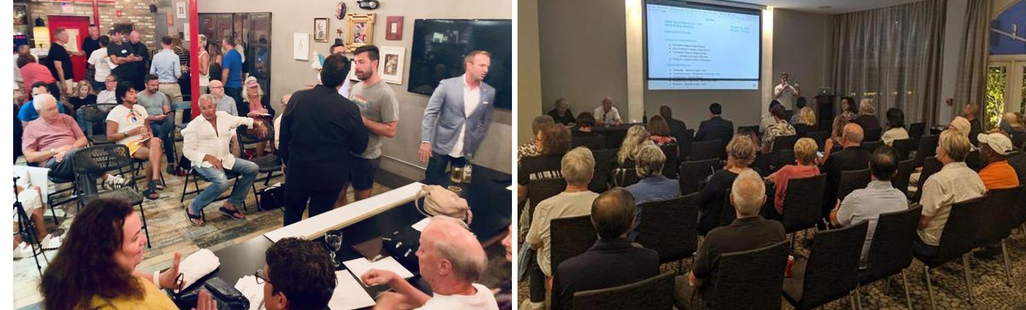 Miami Beach Democratic Club meetings