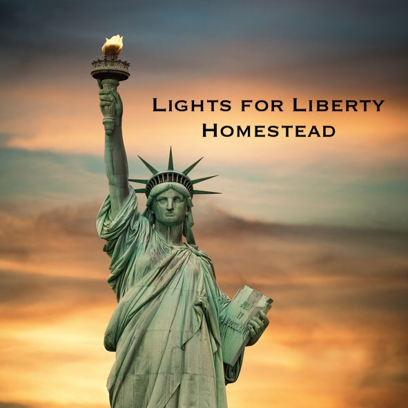Lights for Liberty: Homestead