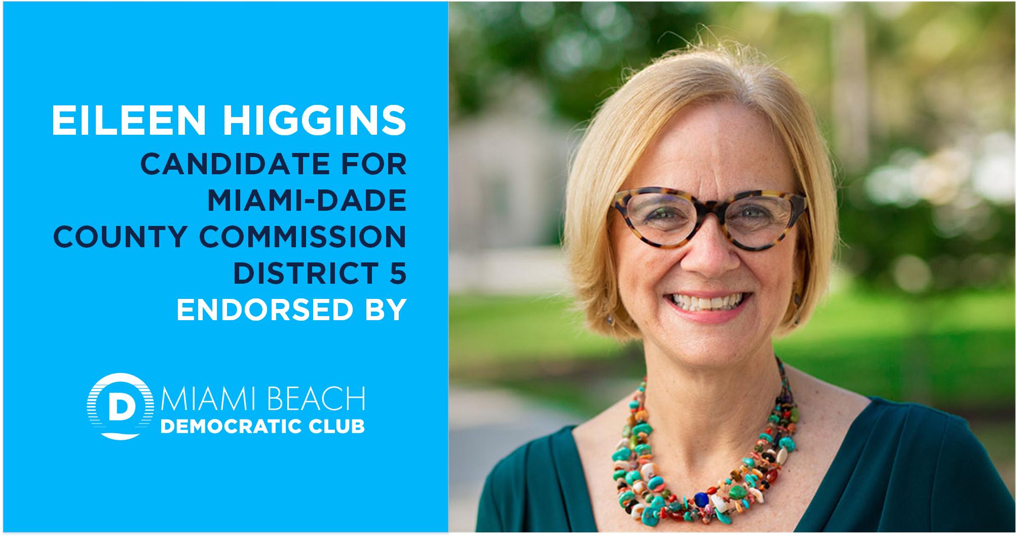 MBDC Eileen Higgins Endorsement