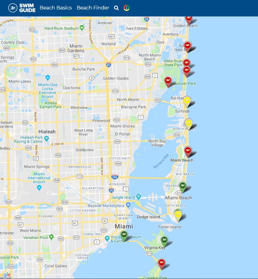 Swim Guide - Miami Waterkeeper