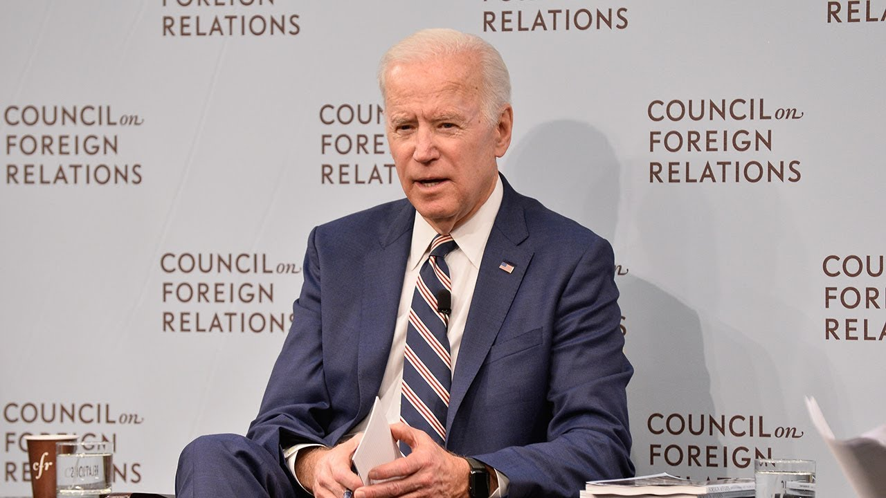 Biden Council foreign relations