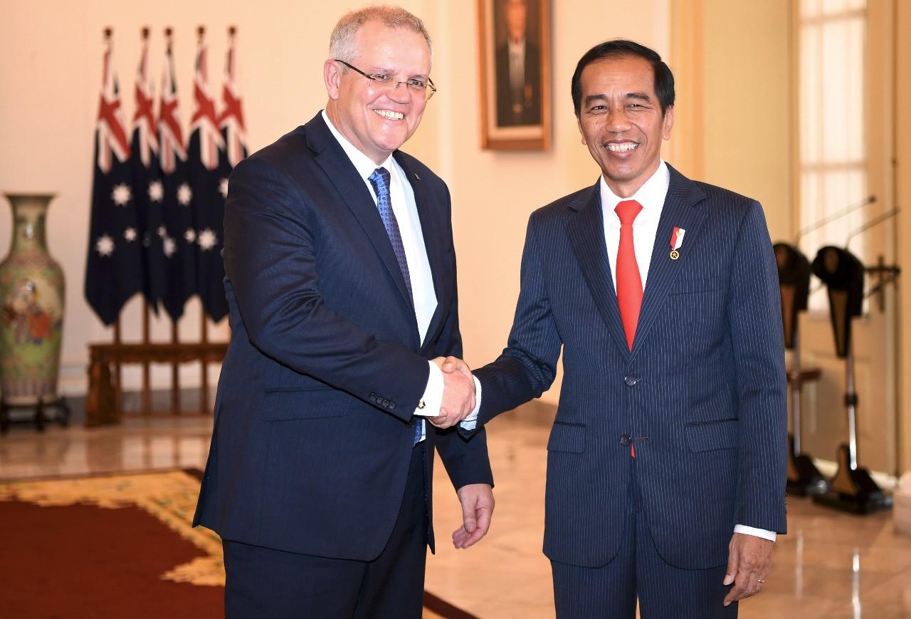 Scott Morrison and Indonesia PM