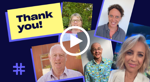Thank you video image cover