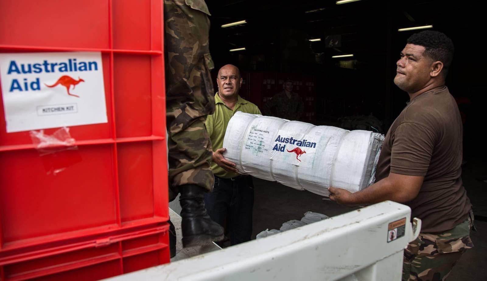 Australian aid Image