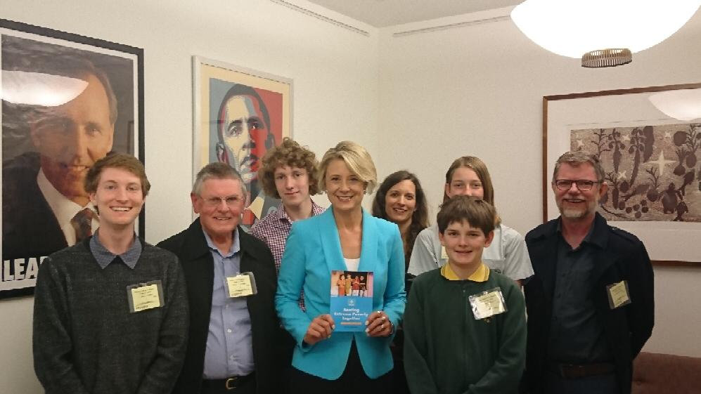 Delegates met with Senator Keneally