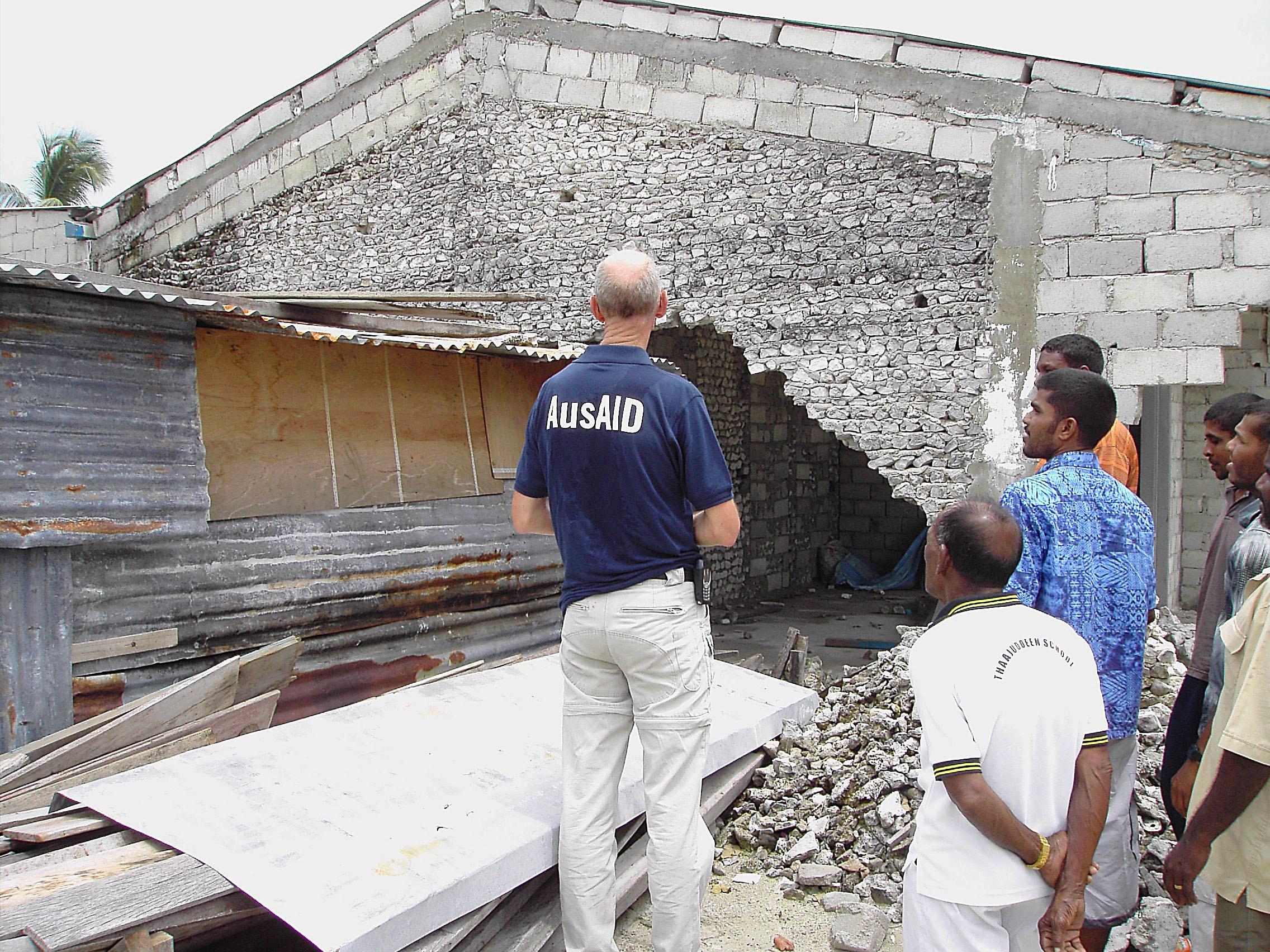 Tsunami aus aid