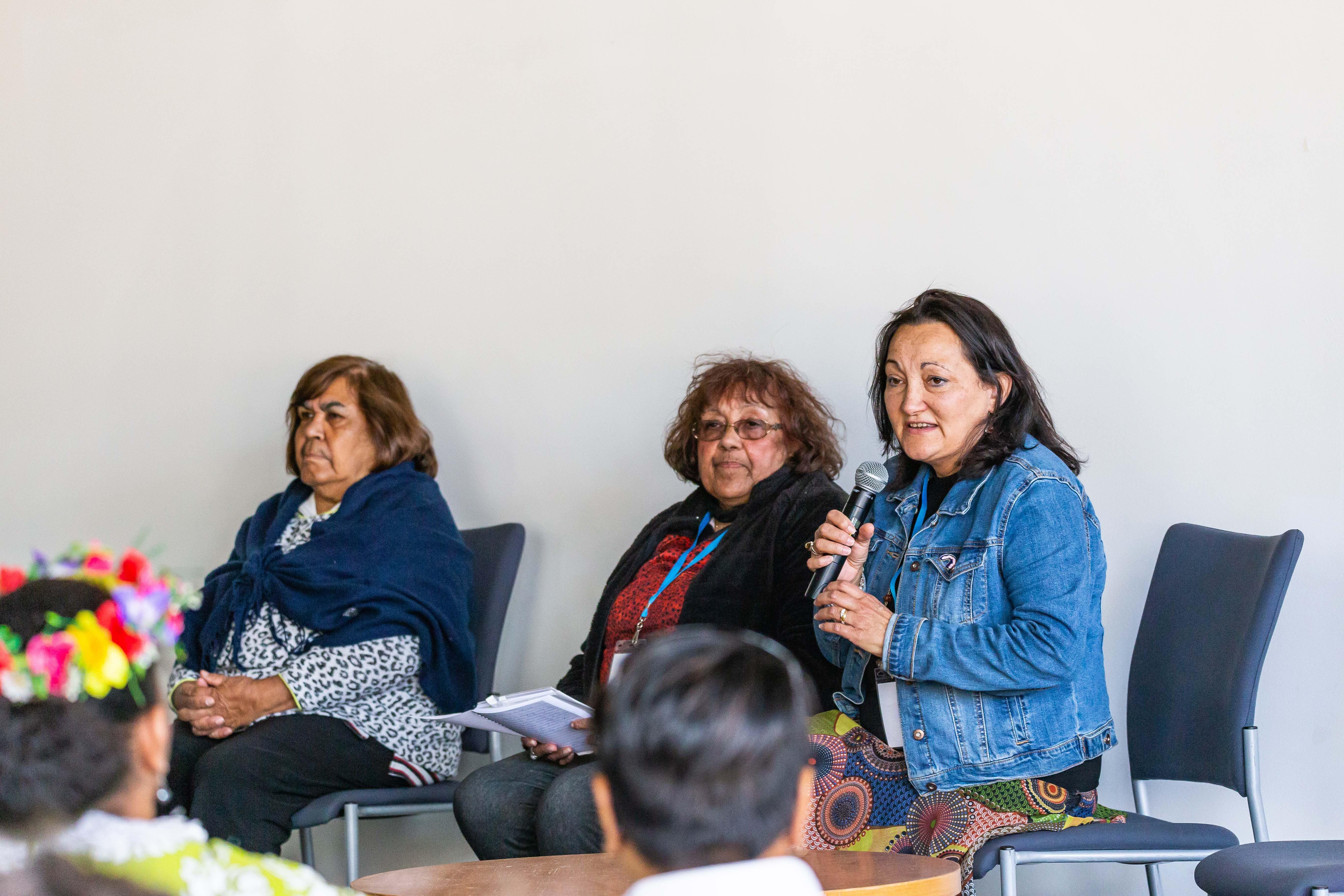 Aboriginal Aunties speaking