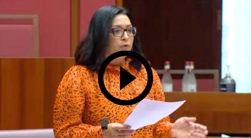 Senator Mehreen Farqui