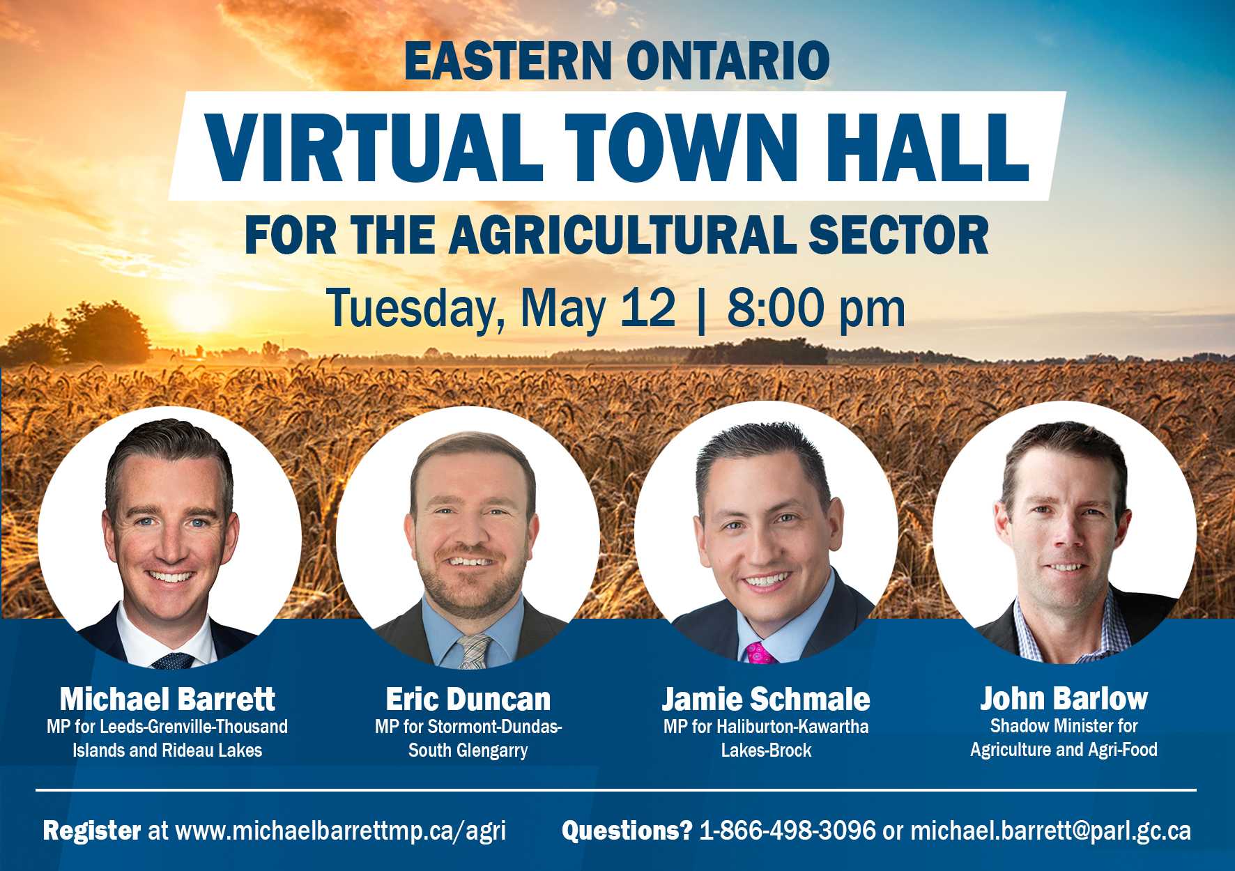 Eastern Ontario Virtual Town Hall For The Agricultural Sector