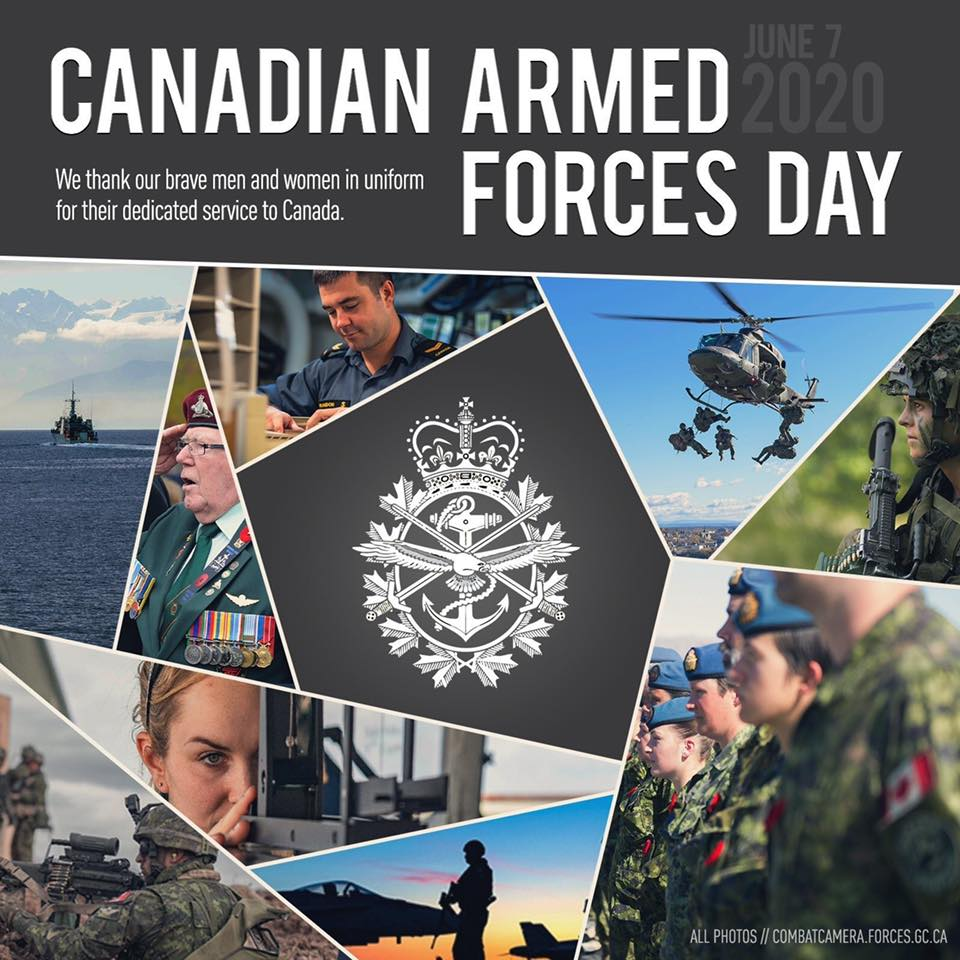 Thank you to Our Canadian Armed Forces
