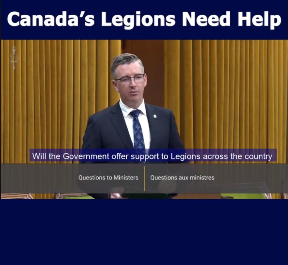 Canada's Legions Need Help