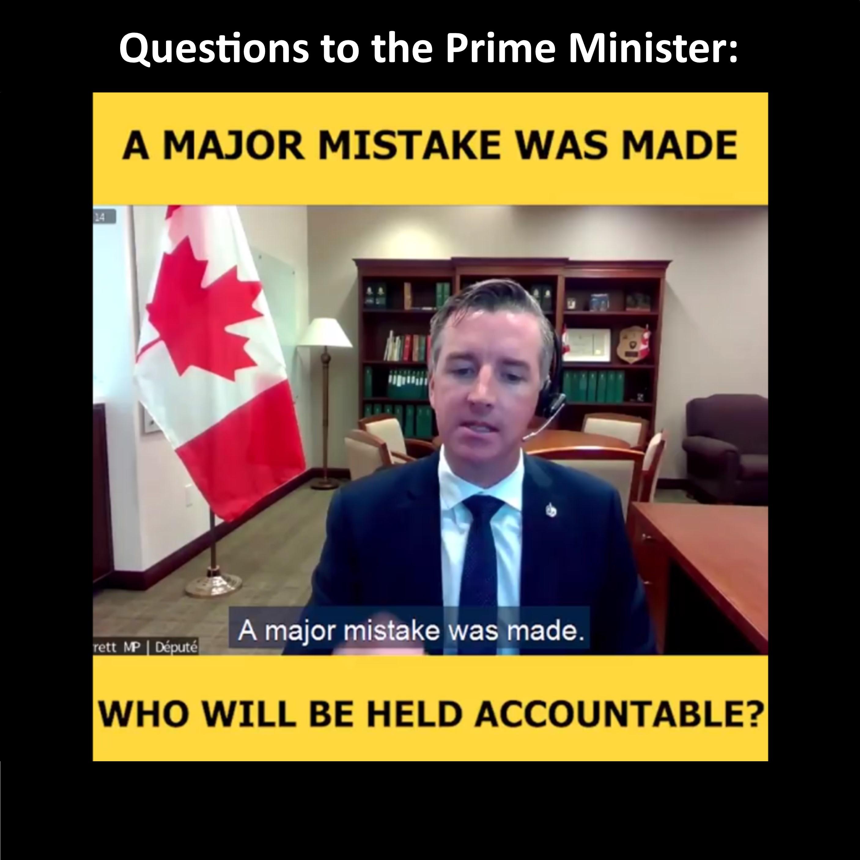 Major Mistake - Where is the Accountability?