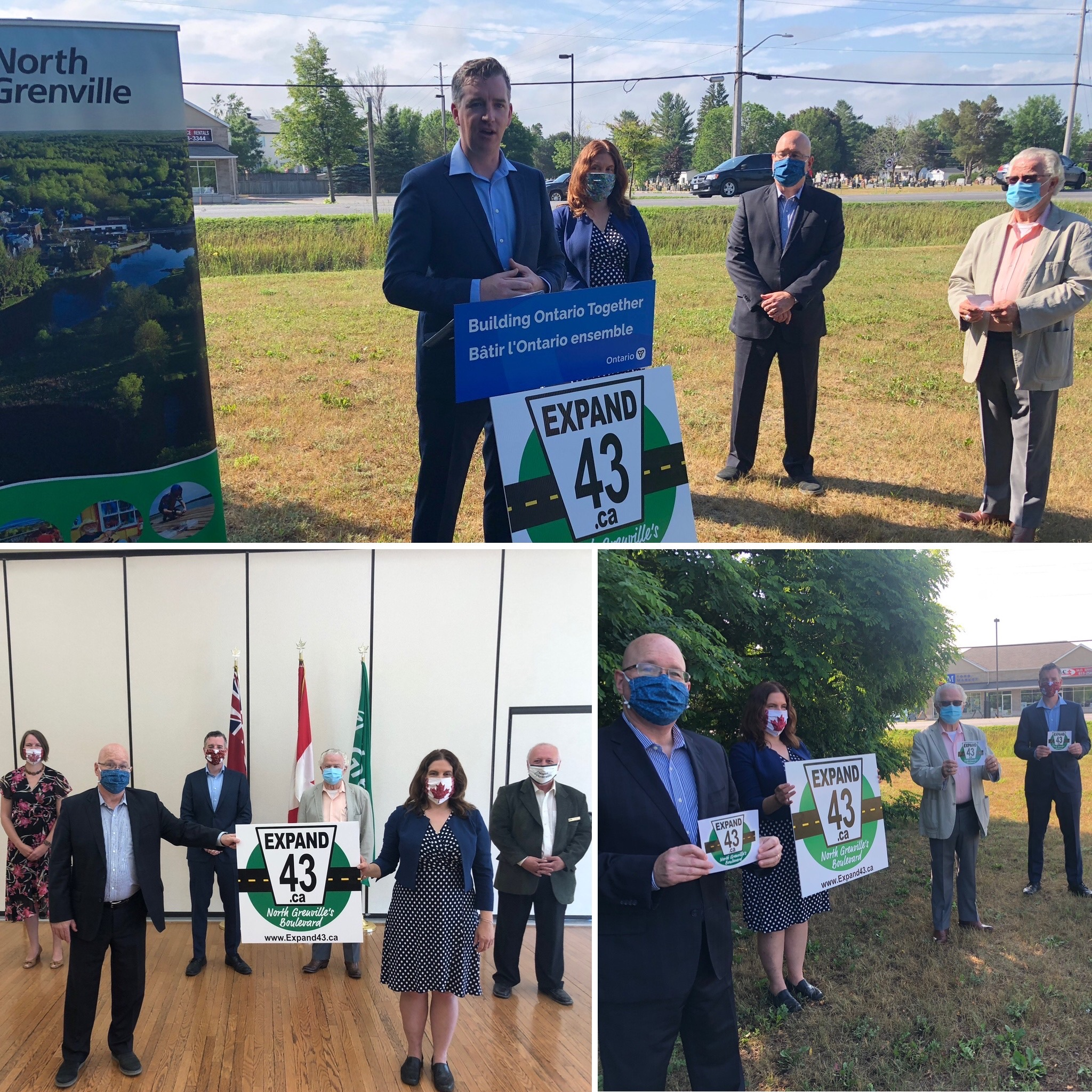 Federal funding for the County Road 43 expansion project secured
