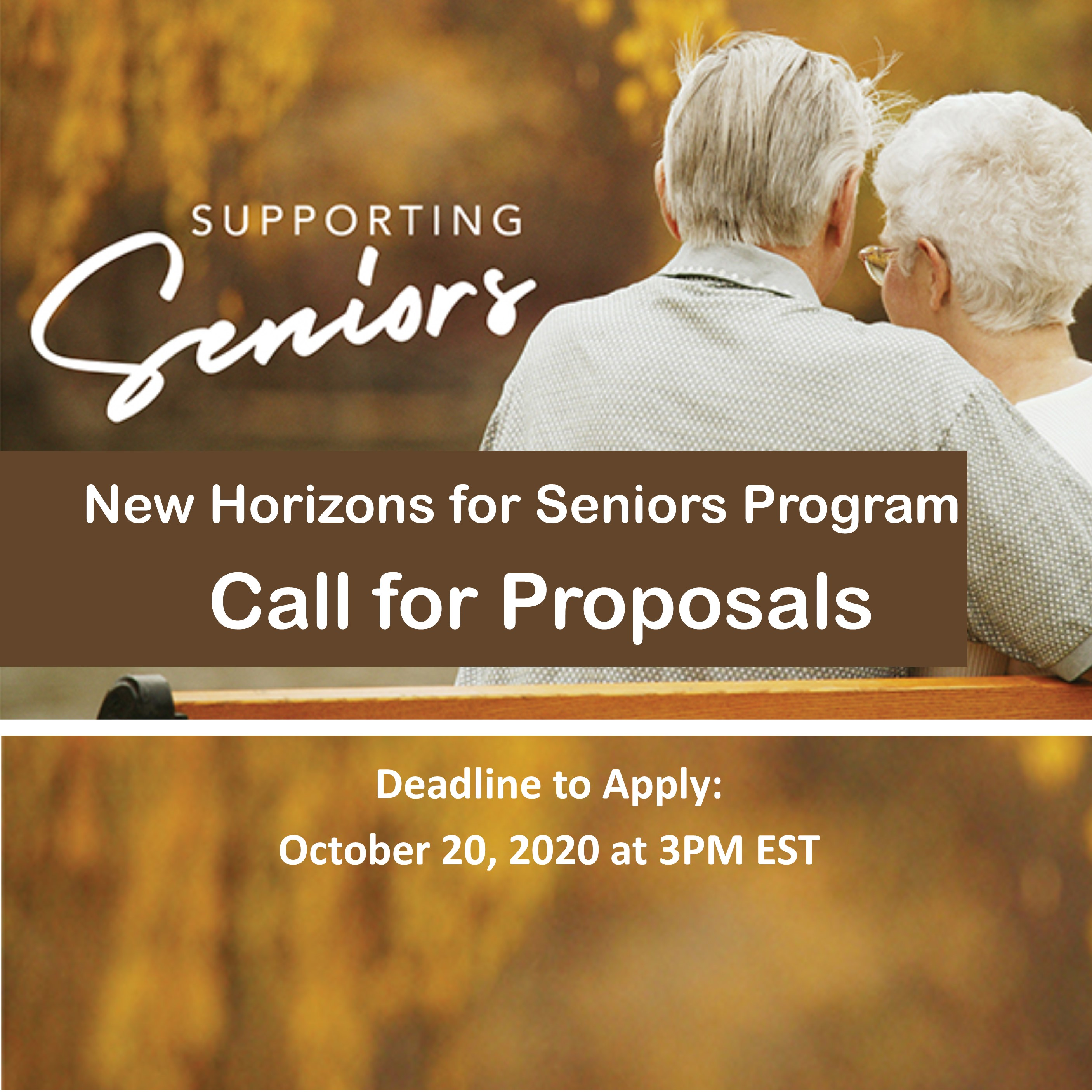 New Horizons for Seniors Program - 2020-2021