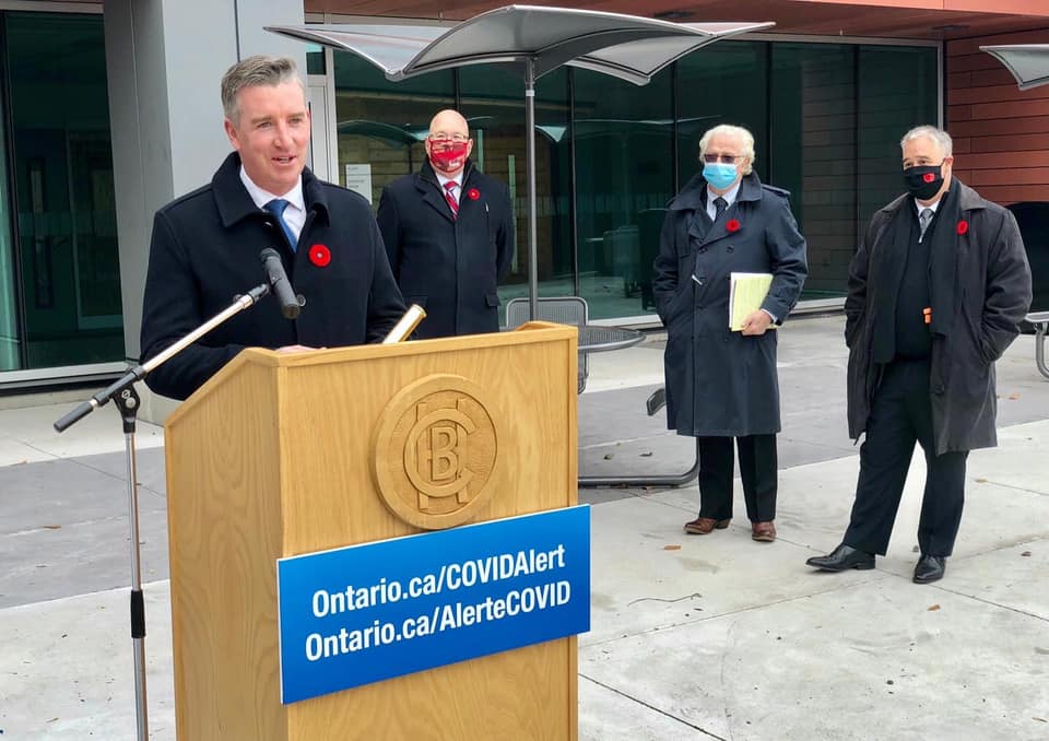 Brockville General Hospital Ribbon-cutting for New Donald B. Green Tower