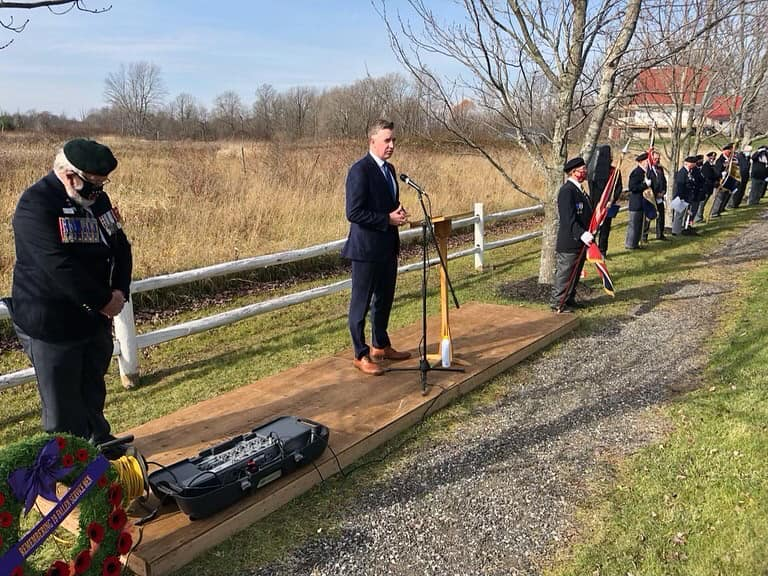 Remembrance Road Ceremony - Mallorytown