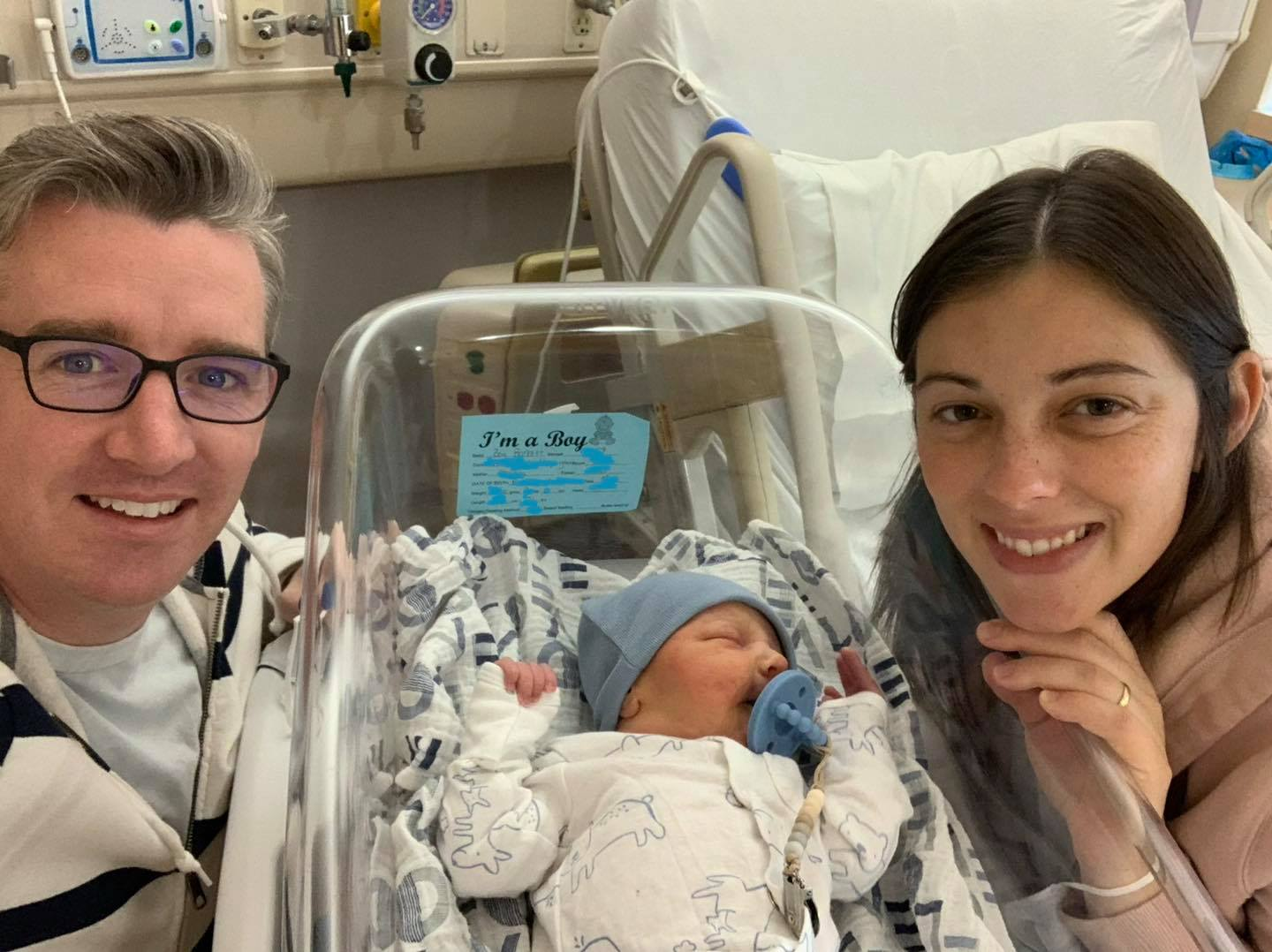 Shout out to Brockville General Hospital for their support during the birth of son Nathan