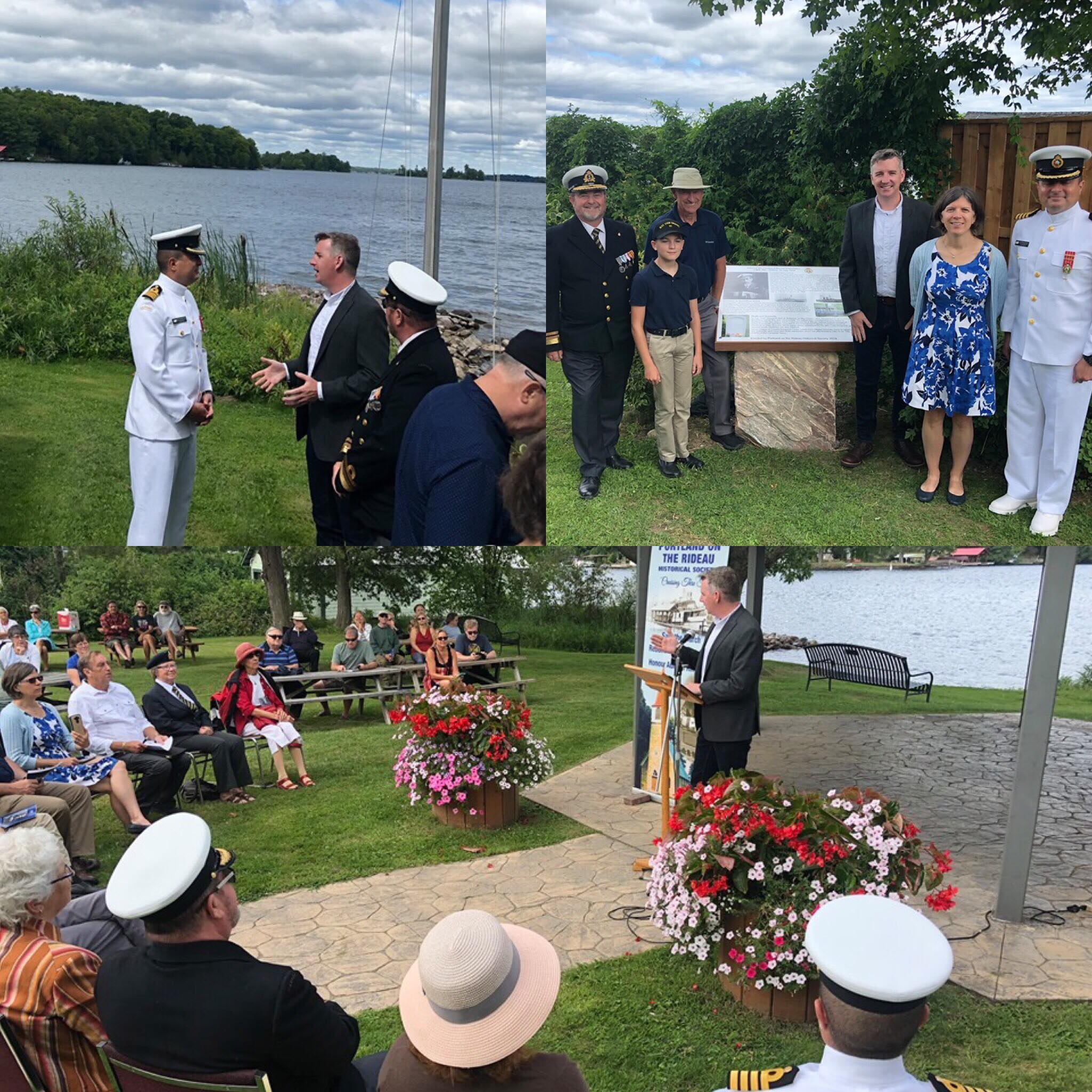 Admiral Sir Charles Kingsmill Plaque Unveiling