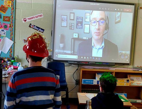 Virtual Class Visit - 5 & 6, St Edward Catholic School