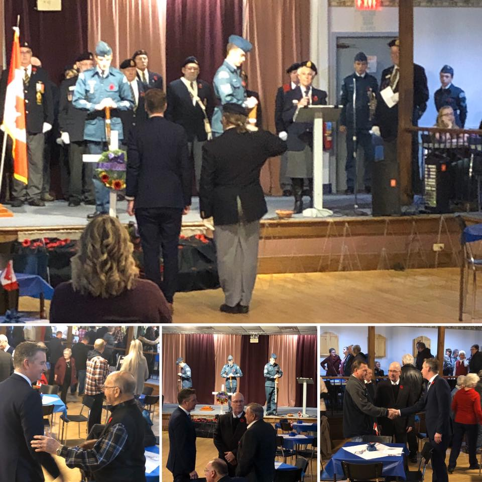 Kitley-Toledo Legion Service of Remembrance - 11/10/2019