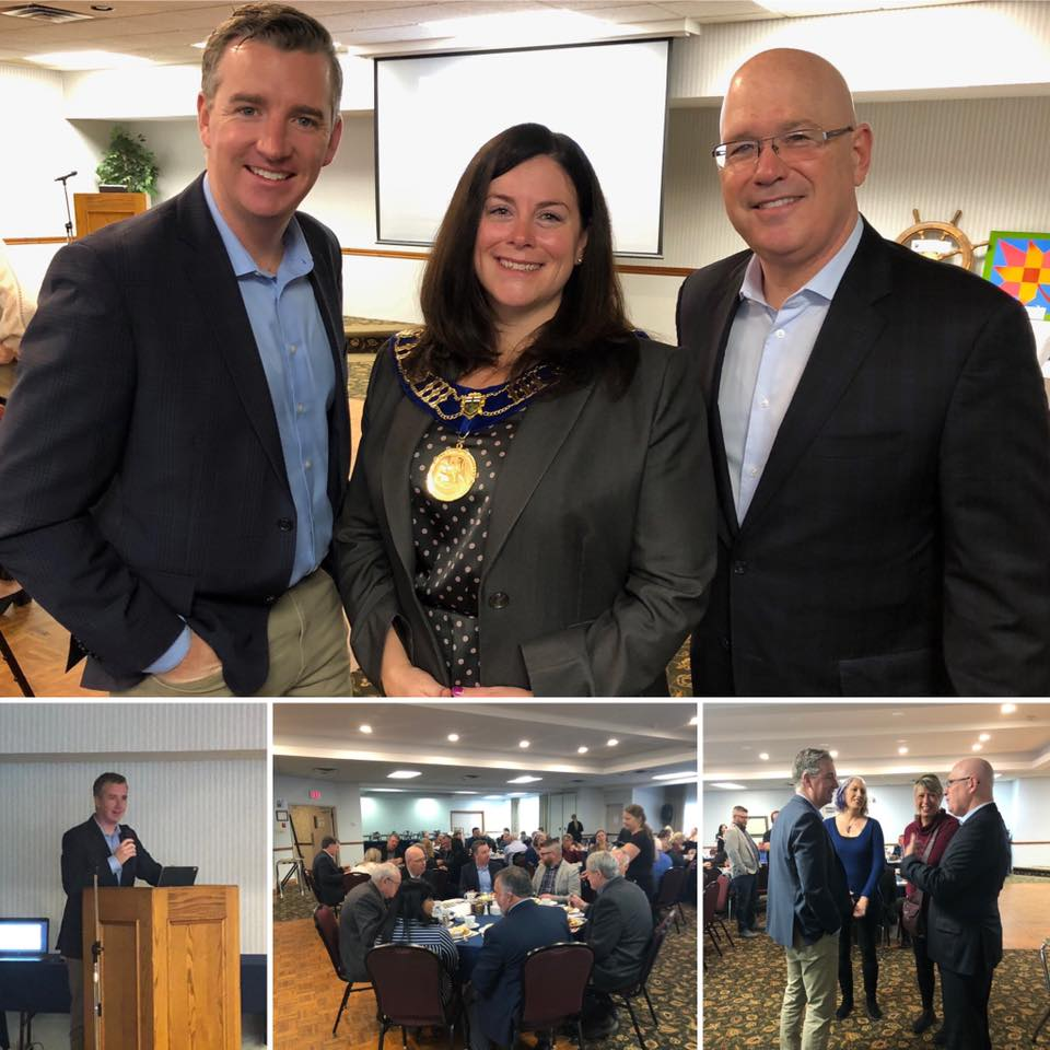 Great discussion and delicious breakfast at the Mayor's Breakfast - 11/14/2019