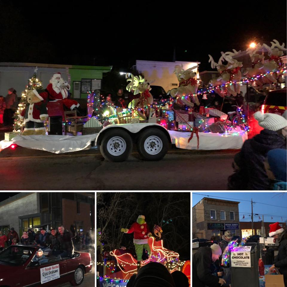 46th annual Santa Claus parade in Kemptville - 11/23/2019