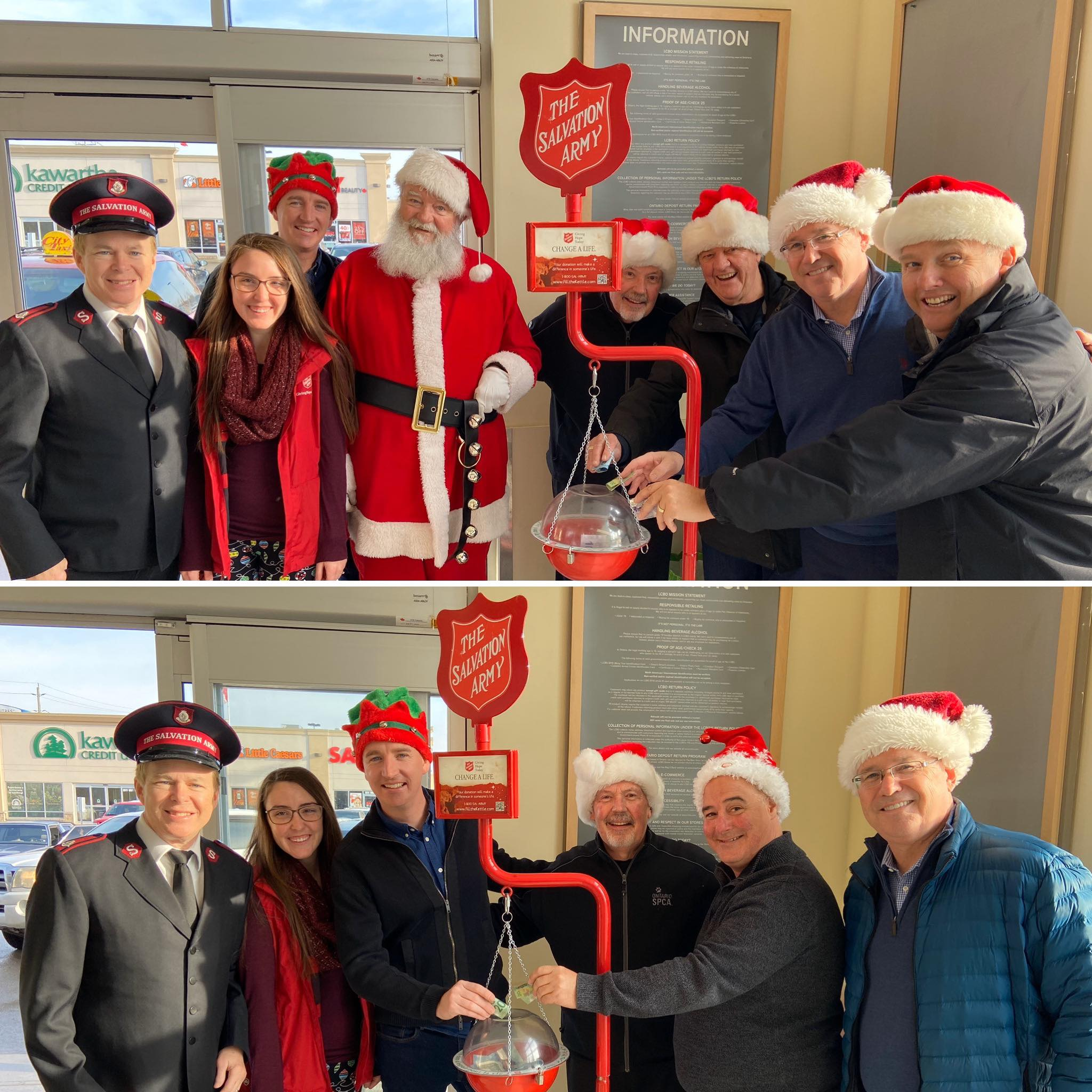 Salvation Army Christmas Kettle Campaign - 12/23/2019