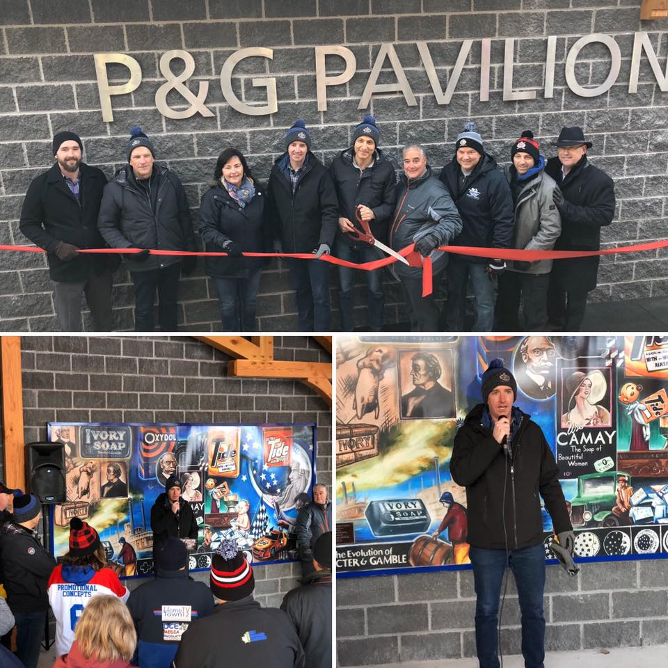 P&G Pavilion at Rotary Park is officially open! - 01/09/2020