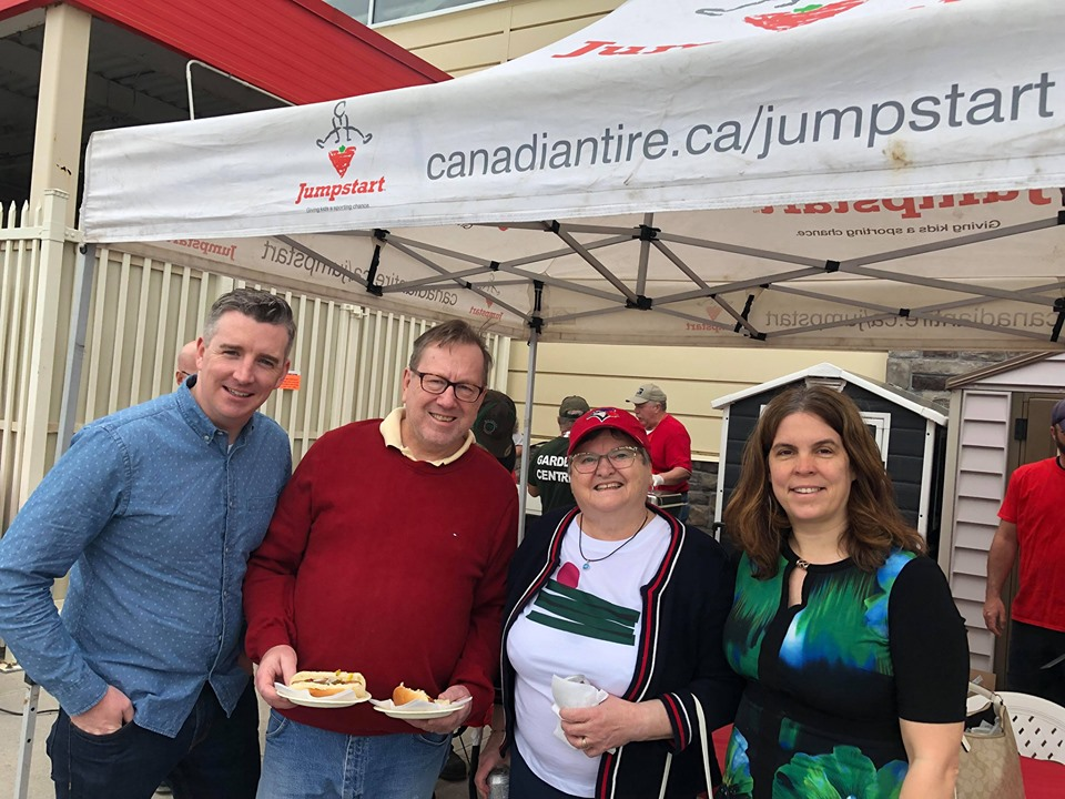 Canadian Tire Jumpstart BBQ
