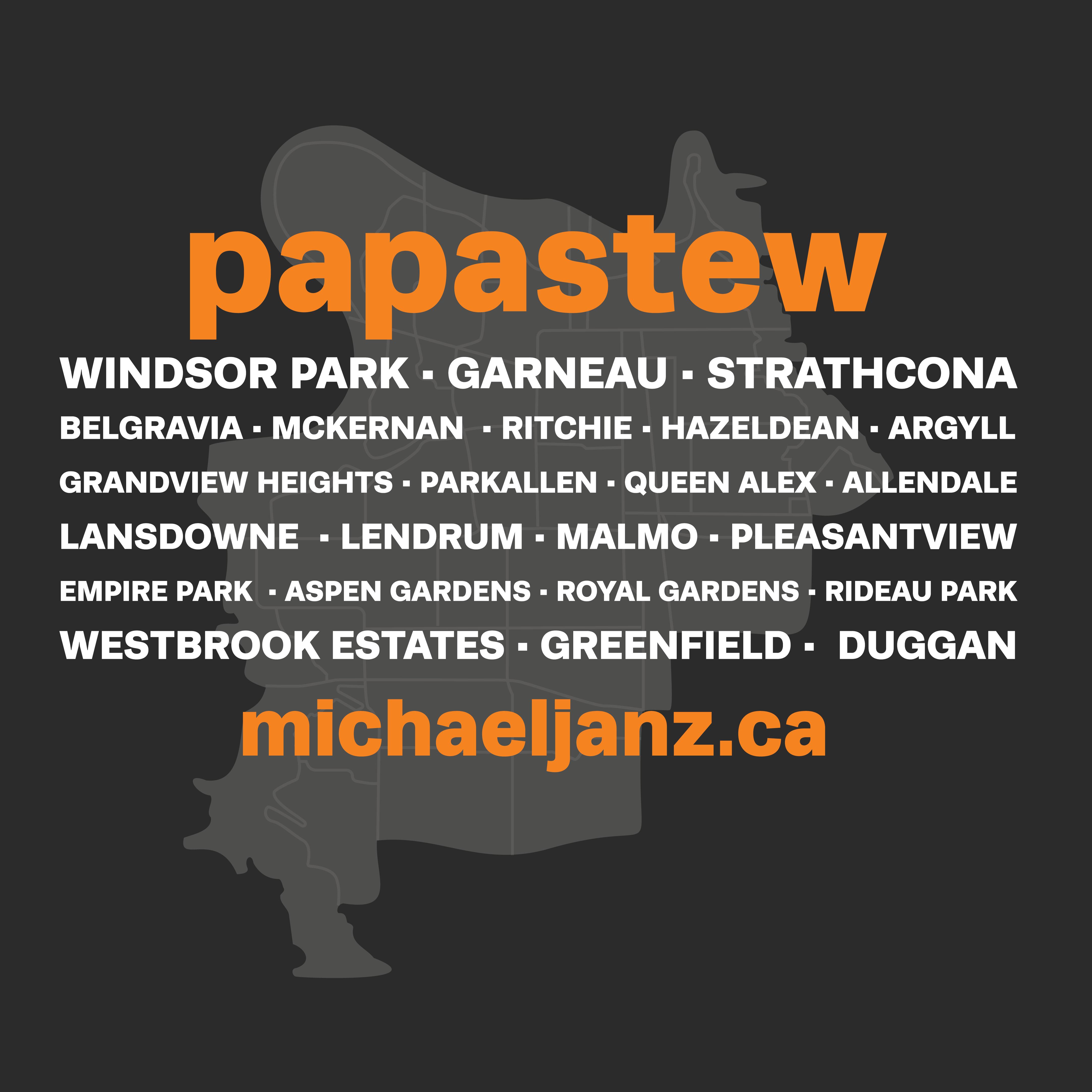 papastew Ward Map Listing All 23 neighbourhoods